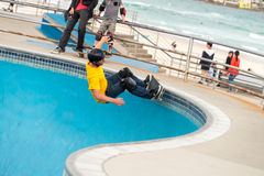 Bondi冰鞋公园 免版税图库摄影