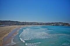Bondi海滩水池在悉尼,澳大利亚 免版税库存照片