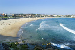 bondi пляжа Стоковые Изображения RF