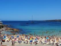 bondi Сидней пляжа Австралии Стоковое Фото