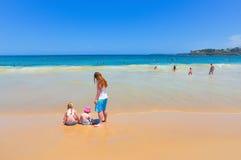 bondi Сидней пляжа Австралии Стоковая Фотография