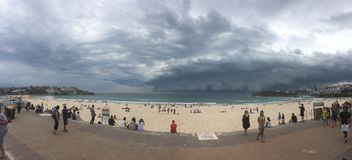 bondi Сидней пляжа стоковая фотография rf