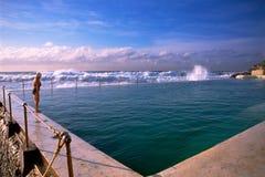 Bondi Baths Royalty Free Stock Images