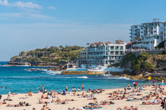 Bondi Beach, Australia. The last days of winter 2015 Stock Images