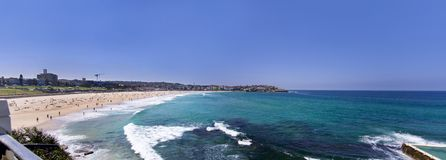 Bondi beach in Australia Royalty Free Stock Images