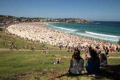 Bondi Beach day Royalty Free Stock Images