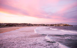 Bondi Beach at dusk Royalty Free Stock Images