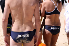 Bondi Beach Lifeguards Royalty Free Stock Images
