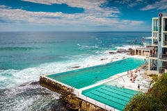 Free Bondi Beach Open Swimming Pool Stock Images - 62475364