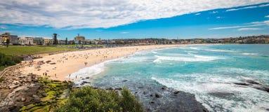 Bondi Beach panorama Stock Photography