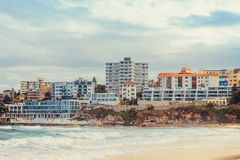 Bondi Beach skyline view Royalty Free Stock Photography