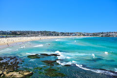 Bondi beach in summer Royalty Free Stock Photography