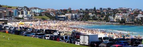Bondi Beach. On a Summer day, in Sydney Royalty Free Stock Photography