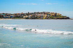 Bondi Beach surfers Royalty Free Stock Photos