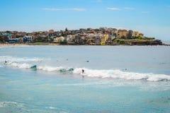 Bondi Beach surfers Royalty Free Stock Photos