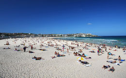 Bondi Beach in Sydney, Australia Stock Images