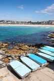 Bondi Beach - Sydney Australia on a beautiful sunny day. Royalty Free Stock Photography