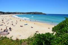 Bondi beach in Sydney, Australia stock photos