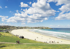 Bondi beach in sydney australia Royalty Free Stock Photos