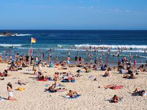 Bondi Beach, Sydney, Australia Royalty Free Stock Photos