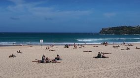 Bondi Beach, Sydney, Australia stock video footage