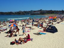 Bondi Beach, Sydney, Australia Royalty Free Stock Images