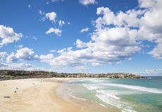 Bondi beach in sydney australia Royalty Free Stock Photo