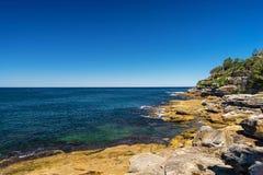 Bondi Beach in Sydney, Australia. View of the Bondi Beach in Sydney Australia Stock Image