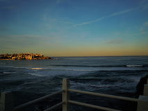 Bondi beach in Sydney royalty free stock photography