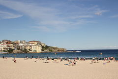 Bondi Beach Sydney Scenery Royalty Free Stock Photo