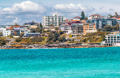 Bondi Beach in Sydney on a sunny day Stock Photo
