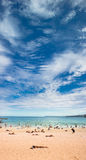 Bondi Beach, Sydney - under a big dramatic sky Royalty Free Stock Photography