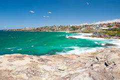 Bondi Beach to Bronte Walk, Sydney, Australia Royalty Free Stock Photography
