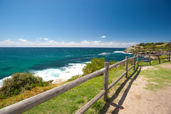 Bondi Beach to Bronte Walk, Sydney, Australia Stock Photography