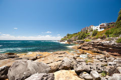 Bondi Beach to Bronte Walk, Sydney, Australia Royalty Free Stock Photos