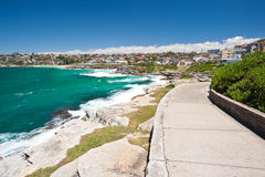 Bondi Beach to Bronte Walk, Sydney, Australia Stock Images