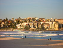 Bondi beach view Royalty Free Stock Image