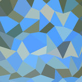 Bondi Blue Abstract Low Polygon Background Stock Photo