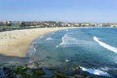 bondi de plage Images libres de droits