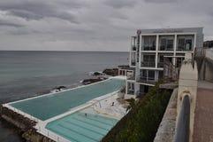 Bondi Iceberg swimming baths pool sydney Royalty Free Stock Photos