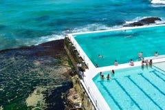 Bondi Icebergs pool Royalty Free Stock Photos