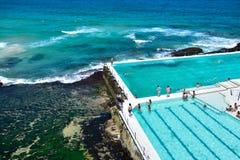 Bondi Icebergs pool Stock Photos