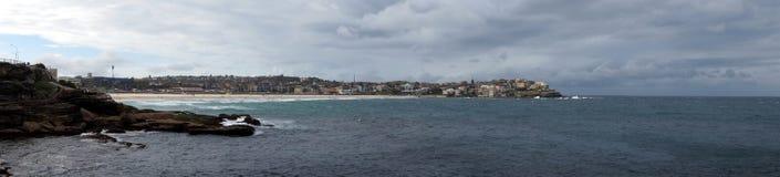 Bondi panoramic view royalty free stock photos