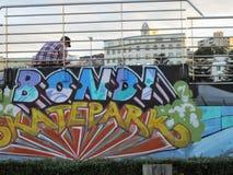Bondi plaża wielki miejsce cieszyć się cudowne aktywność, NSW, Australia zdjęcie stock