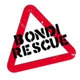 Bondi Rescue rubber stamp Stock Photos