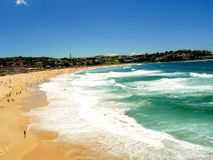 Bondi strand Royaltyfri Bild