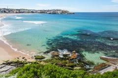 Bondi strand, Sydney, Australien. fotografering för bildbyråer