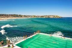 Bondi-Strand in Sydney, Australien Stockfotografie