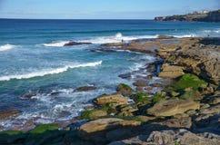 Bondi, Sydney, Australia. Coastal Walk @ Bondi, Sydney, Australia Royalty Free Stock Photography