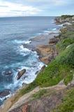 Bondi, Sydney. Coastal Walk at Bondi, Sydney, Australia Stock Photography